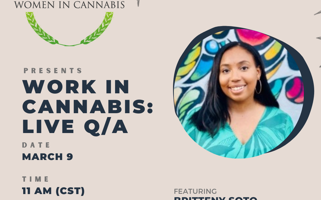 Work in Cannabis: Live Q&A